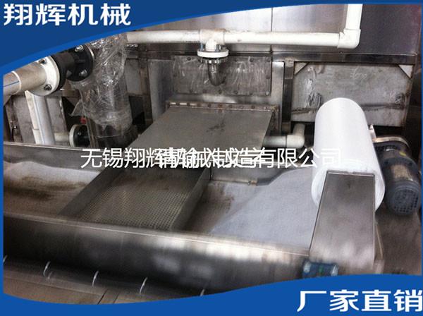 与某公司合作的双通道清洗机(出口)